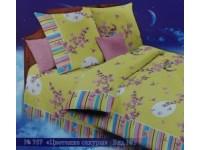 Комплект постельного белья бязь стандарт 1,5 спальное