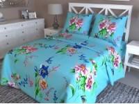 Комплект постельного белья голубое
