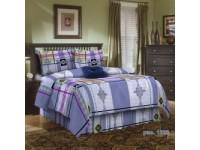 Комплект постельного белья из цветной бязи 100% хлопок ГОСТ 1,5 размер 150х214