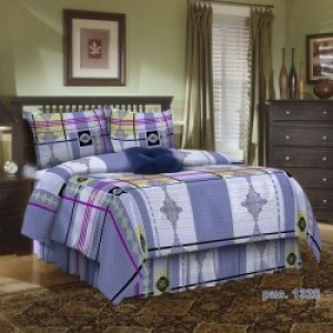 Комплект постельного белья из цветной бязи 100% хлопок ГОСТ 1,5