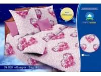 Комплект постельного белья из цветной бязи размер 147х212