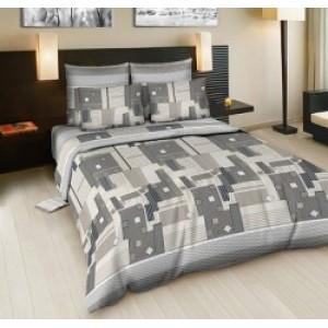 Комплект постельного белья из набивной бязи ГОСТ размер ЕВРО