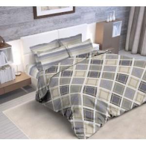 Комплект постельного белья из набивной бязи  БЯЗЬ ГОСТ ЕВРО БЯЗЬ ГОСТ  ЕВРО 21